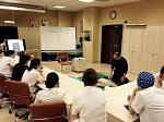 In the Medical Centre Hospital BLS course training is conducted